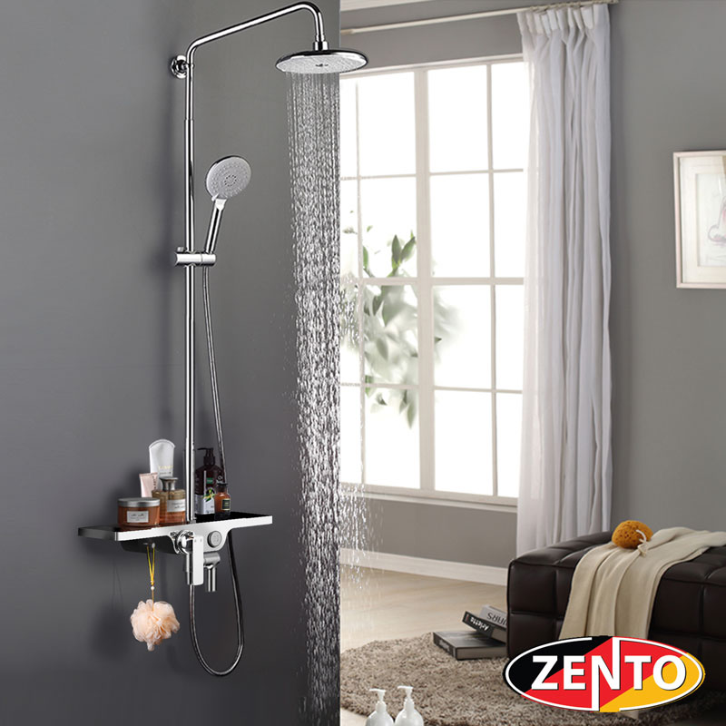 Bộ sen cây Luxury Push-button Zento ZT8709